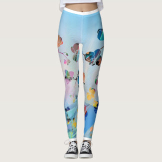 Sanctuaire d'orchidée leggings