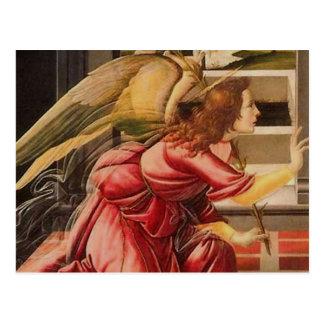 Sandro Botticelli - ange (Delail) Carte Postale
