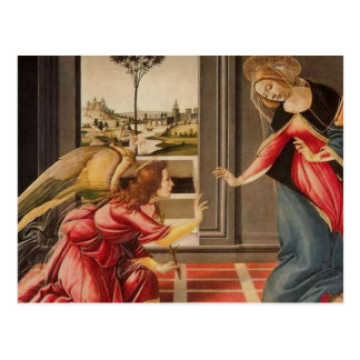 Sandro Botticelli - la CHROMATOGRAPHIE GAZEUSE Carte Postale