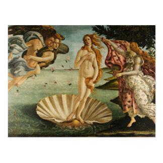 Sandro Botticelli - la naissance de Vénus Carte Postale