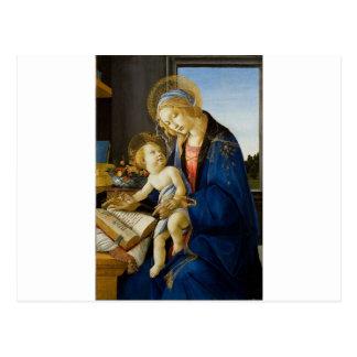 Sandro Botticelli - la Vierge et l'enfant Carte Postale