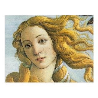 Sandro Botticelli - Vénus (détail) Carte Postale