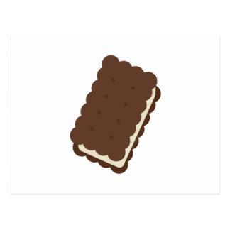 Sandwich à crème glacée carte postale