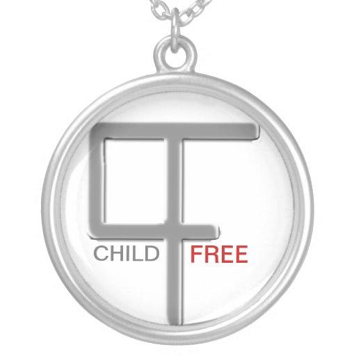 Sans Enfant aucune question Pendentif Rond