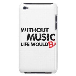 Sans musique, la vie B plat Coque iPod Touch Case-Mate
