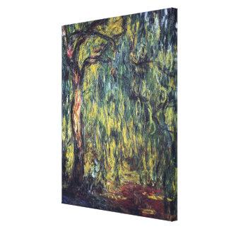 Saule pleurant par Claude Monet, beaux-arts Toiles