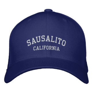 Sausalito, la Californie Casquette Brodée