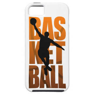 Sauter de Basketballer de joueur de basket Coque Tough iPhone 5
