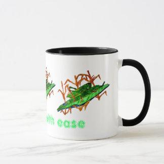 Sauterelle de repos mug