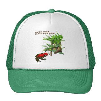 Sauvez la forêt tropicale casquettes de camionneur