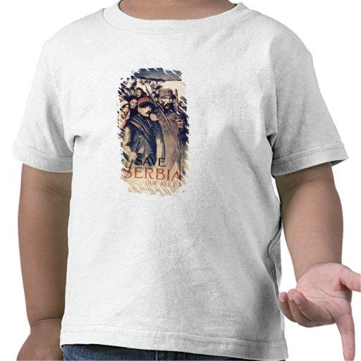 """""""Sauvez la Serbie notre allié"""", l'affiche, 1915 (l T-shirt"""