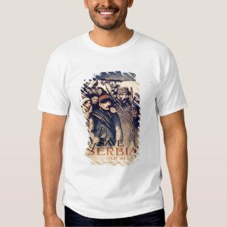 """""""Sauvez la Serbie notre allié"""", l'affiche, 1915 Tee Shirts"""