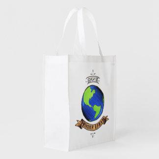 Sauvez la Terre Sac Réutilisable
