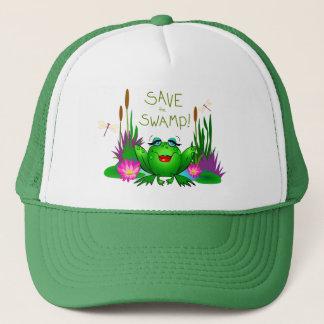 Sauvez le casquette Beulah de marais la grenouille