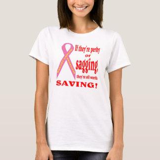Sauvez le sein. Cancer de sein T-shirt