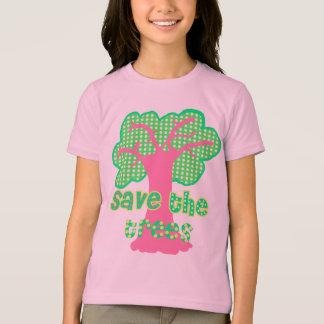 sauvez le T-shirt d'arbres