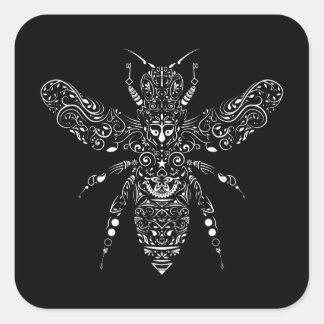 sauvez les abeilles sticker carré
