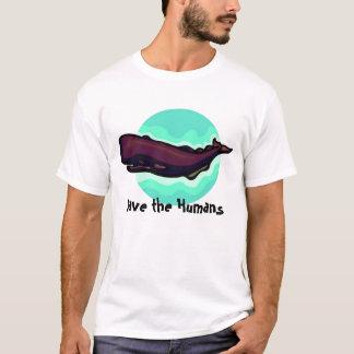 Sauvez les humains t-shirt