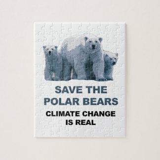 Sauvez les ours blancs puzzle