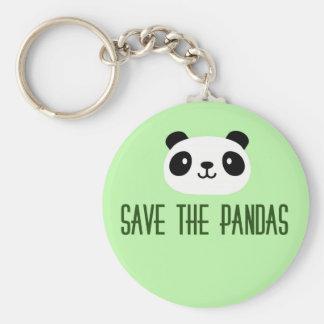 Sauvez les pandas porte-clés