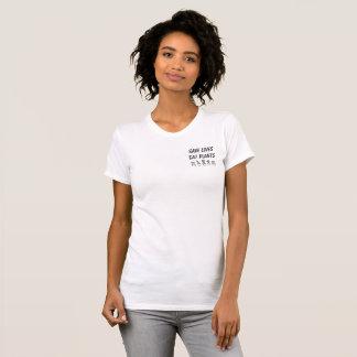 SAUVEZ les VIES MANGENT le T-shirt de PLANTES