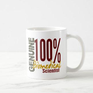 Savant en biomédecine véritable mug blanc