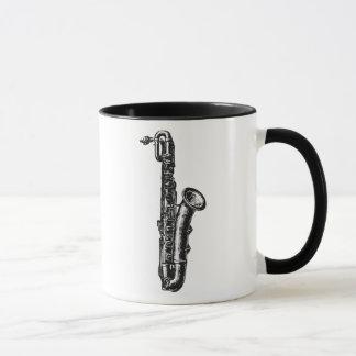 Saxophone de baryton mug