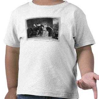Scène de la lettre du cousin t-shirts