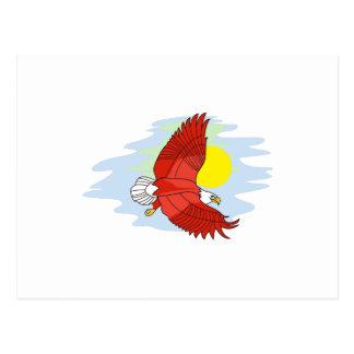 Scène d'Eagle Cartes Postales