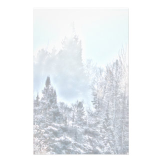 Scène d'hiver prospectus 14 cm x 21,6 cm