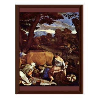Scène pastorale par Ponte Jacopo DA (la meilleure Carte Postale