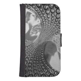 Schaal-Portefeuille iPhone5/5s/GalaxyS4 Wallet Galaxy S4 Portefeuille Hoesje
