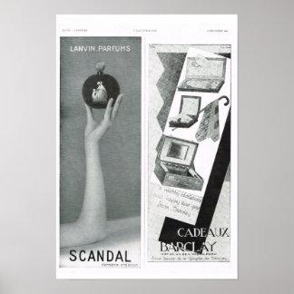 Schandaal; Cadeaux Barclay Poster