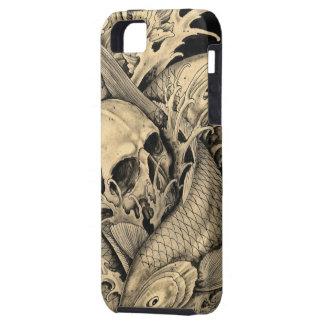 Schedel en Koi Case-Mate iPhone 5 Hoesjes