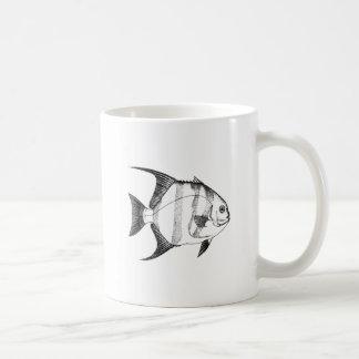 Schéma espadons mug blanc