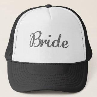 Schitter het Zilver van de Bruid Trucker Pet