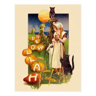 Schmucker : Champ de Halloween Carte Postale
