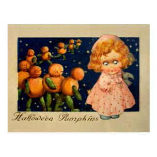Schmucker : Citrouilles de Halloween Carte Postale