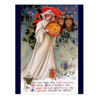 Schmucker : Halloween Carte Postale