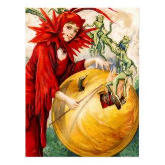 Schmucker : La baguette magique de la sorcière Carte Postale