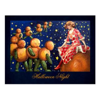 Schmucker : Nuit de Halloween Carte Postale