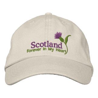 Schotland in mijn Hart Geborduurde Pet