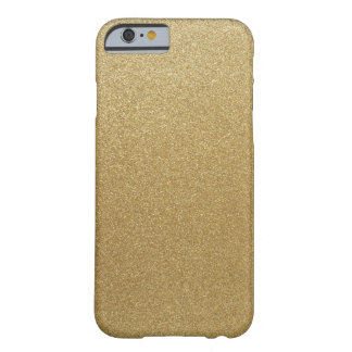 Scintillement d'or coque iPhone 6 barely there