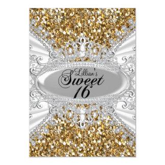 Scintillement d'or et invitation du bonbon 16 à