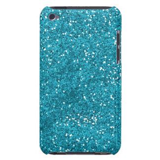 Scintillement élégant de bleu de turquoise coque iPod touch Case-Mate