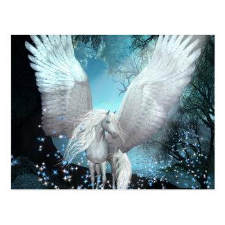 Scintillement Pegasus Carte Postale