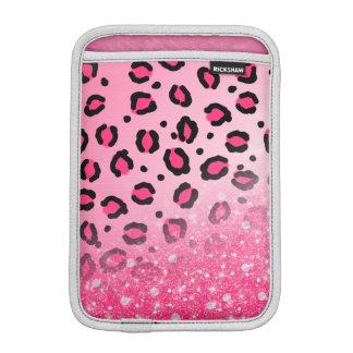 Scintillement scintillant de filles de Faux rose Housse iPad Mini
