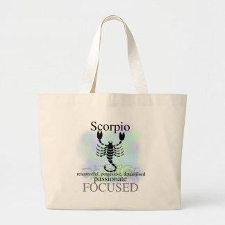 Scorpion au sujet de vous grand sac
