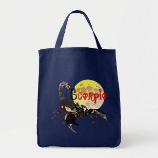 Scorpion signe d'étoile sac
