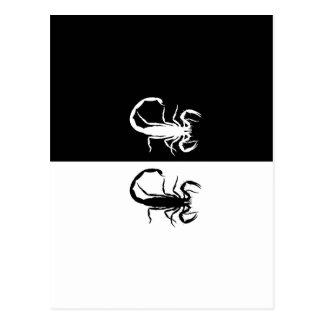 scorpions carte postale